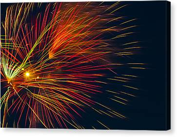 Independance Canvas Print - America The Beautiful by Joshua Dwyer