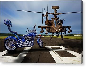 American Choppers 2 Canvas Print