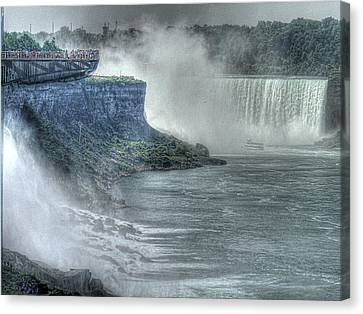 American Falls Canvas Print by William Fields