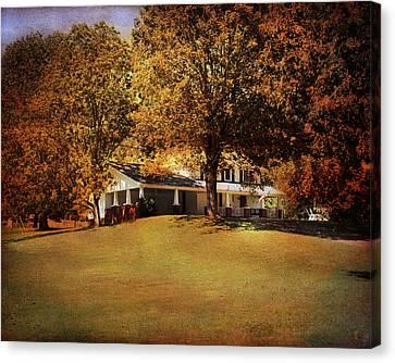 American Home Canvas Print by Jai Johnson