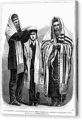 American Judaism, 1877 Canvas Print