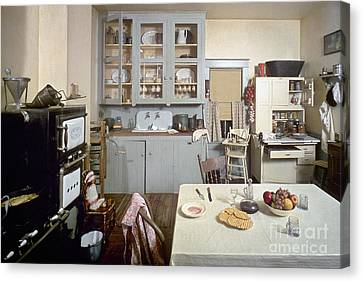 American Kitchen Canvas Print by Granger