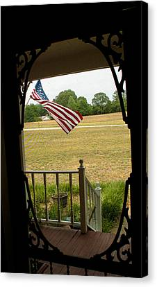 American Pride  Canvas Print by Toma Caul