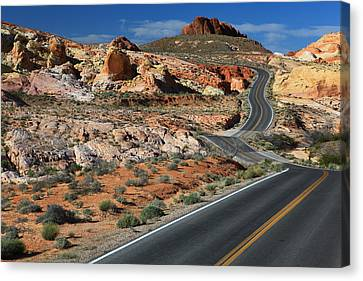 American Roadtrip Canvas Print by Achim Thomae