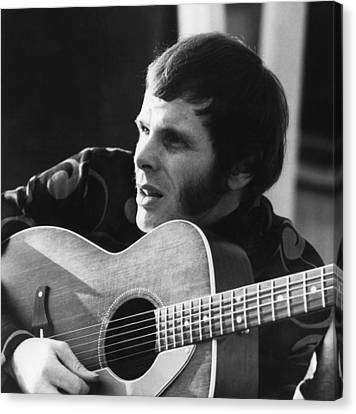 1960s Hairstyles Canvas Print - American Rock Musician Del Shannon by Everett