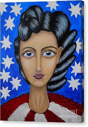 American Soul  Canvas Print by Claudia Tuli