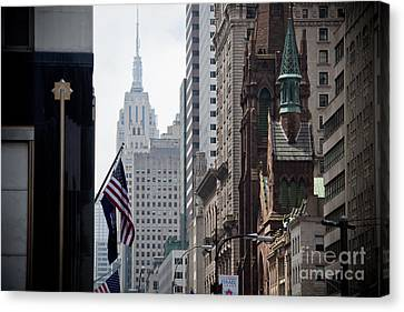 Americana Canvas Print by Steven Gray