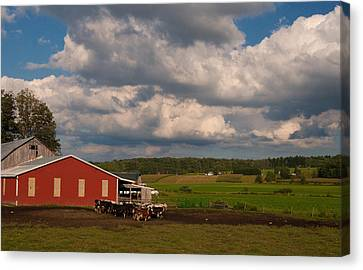Canvas Print featuring the photograph America's Breadbasket by Cindy Haggerty