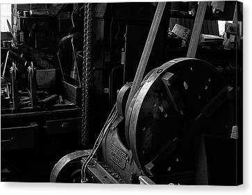 Canvas Print featuring the photograph Ames Mfg Co by Tom Singleton