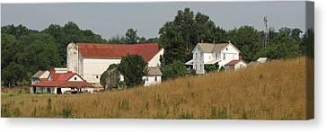 Amish Country Farm Canvas Print