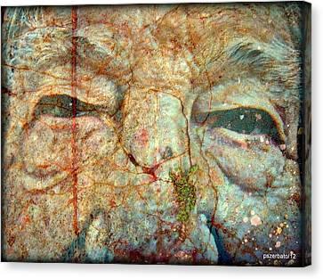 Amore E Sogni Mai Eta Canvas Print by Paulo Zerbato