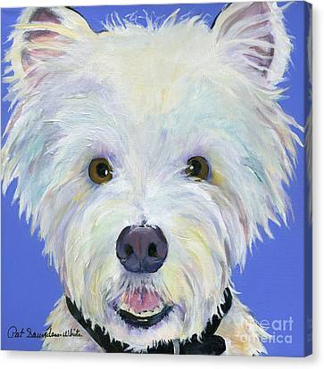 Amos Canvas Print by Pat Saunders-White