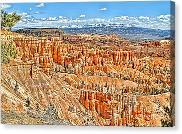 Amphitheater  Canvas Print by Jason Abando