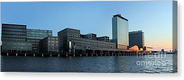 Amsterdam - In The Bay- 02 Canvas Print by Gregory Dyer