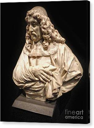 Amsterdam Rijksmuseum Classic Bust - 01 Canvas Print by Gregory Dyer