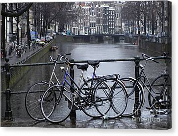Amsterdam The Netherlands Canvas Print by Bob Christopher