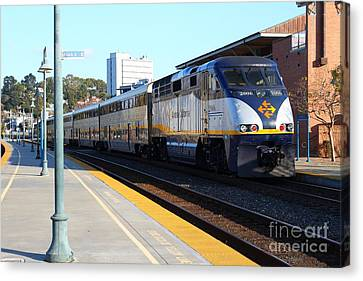 Art print POSTER Canvas Amtrak in Station
