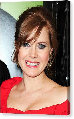 Amy Adams At Arrivals For Leap Year Canvas Print by Everett