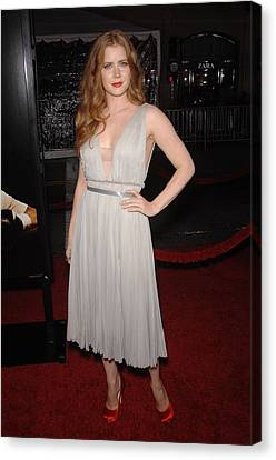 Amy Adams Wearing A J. Mendel Dress Canvas Print by Everett