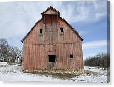 An Abandoned Farm Near Otoe, Nebraska Canvas Print by Joel Sartore