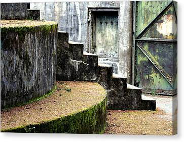 An Abandoned Fortress Canvas Print