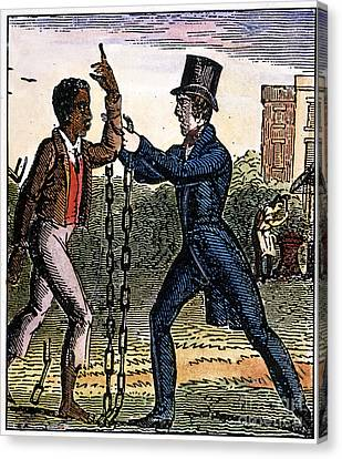 An Abolitionist Canvas Print by Granger