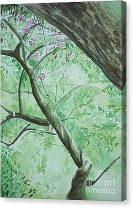 An Afternoon In My Garden Canvas Print by Vuong Anh Tuan