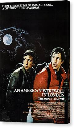 An American Werewolf In London, Griffin Canvas Print by Everett