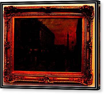 An Antique Canvas Print by Anand Swaroop Manchiraju