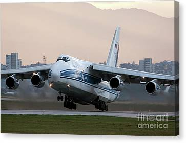 Art print POSTER Canvas McDonnell Douglas DC-10 with Lowered Landing Gear