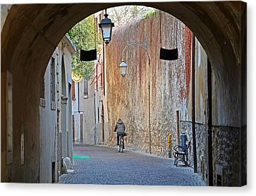 An Arch In Arco Canvas Print