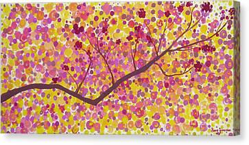 An Autumn Moment Canvas Print
