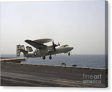 An E-2c Hawkeye Takes Canvas Print by Stocktrek Images