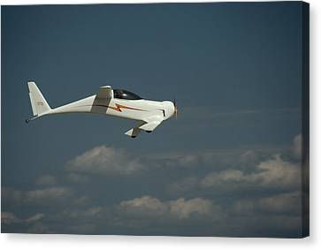 An Experimental Aircraft, The Quickie Canvas Print by Micheal E. Long