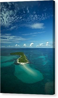 An Island In The Quirimbas Archipelago Canvas Print by Jad Davenport