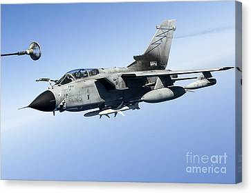An Italian Air Force Tornado Ids Canvas Print by Gert Kromhout