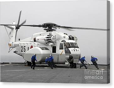 An Mh-53e Super Stallion Helicopter Canvas Print by Stocktrek Images