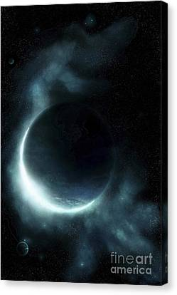 An Oceanic Planet Canvas Print by Tomasz Dabrowski