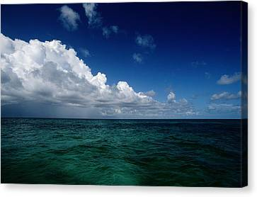 An Overall Scenic From Grand Turk Canvas Print by Wolcott Henry