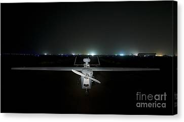 An Rq-5 Hunter Unmanned Aerial Vehicle Canvas Print