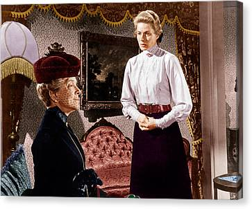 Anastasia, From Left Helen Hayes Canvas Print by Everett