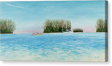 Canvas Print - Anchorage At Crystal Bay by Kevin Brant