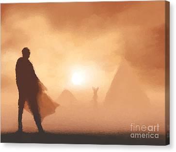 Ancient Desert Canvas Print by Pixel  Chimp