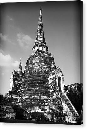 Ancient Tower Canvas Print by Thanh Tran