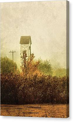 Ancient Transformer Tower Canvas Print