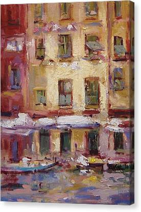 Ancient Windows 5 Canvas Print by R W Goetting