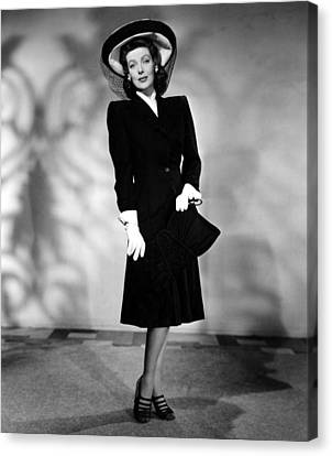 And Now Tomorrow, Loretta Young, 1944 Canvas Print