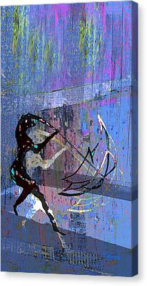 And Singing In The Rain Canvas Print by Tony Marquez