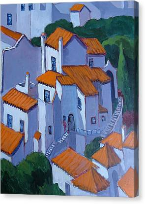 Andalucia Spain Canvas Print by Edward Abela
