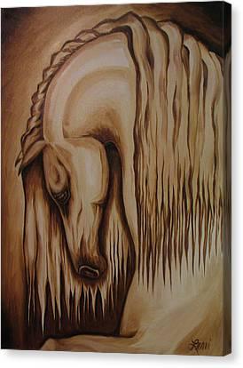 Horse Art Canvas Print - Andalusian IIi by Leni Tarleton